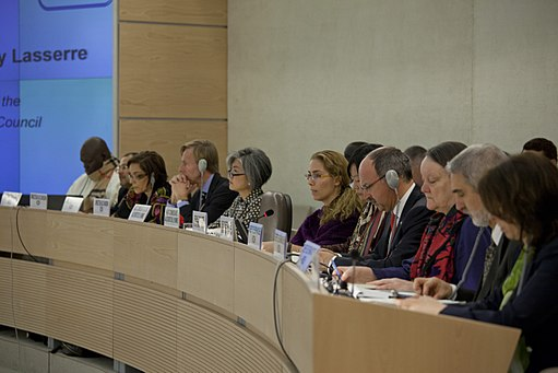 HRC Secretariat and OHCHR Officials at Human Rights Council