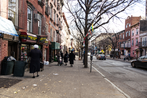 Jewish neighborhood, New York