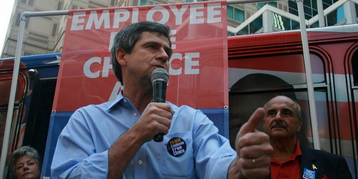 Democratic hopeful Joe Sestak